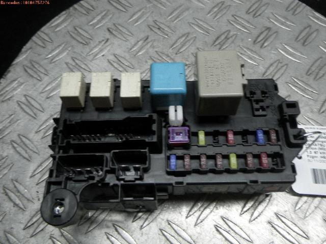 Fuse Box Daihatsu Sirion 2 (M3) Hatchback 1.3 16V DVVT (K3 ... Daihatsu Terios Fuse Box Location on