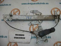 Nissan / Datsun Almera (N15) Sedan 1.6 GX,SLX 16V (GA16DE) WINDOW MECHANISM RIGHT REAR 1998