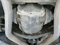 Mercedes-Benz E (W211) Sedan 3.2 E-320 CDI 24V (OM648.961) DIFFERENTIAL REAR C 0 A2303510105 A2303510105/A2303510105