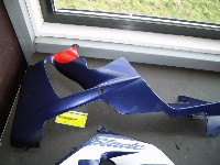 Honda CBR 900 RR Fireblade 2000-2001 (CBR929RR SC44) FAIRING LEFT LOWER 2000