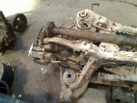 Cadillac CTS II Sedan 3.6 V6 24V (LFX) CONTROL ARM RIGHT REAR 2010