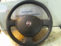 Fiat Panda (169) Hatchback 1.2 Fire Natural Power (188.A.4000) STEERING WHEEL 2009
